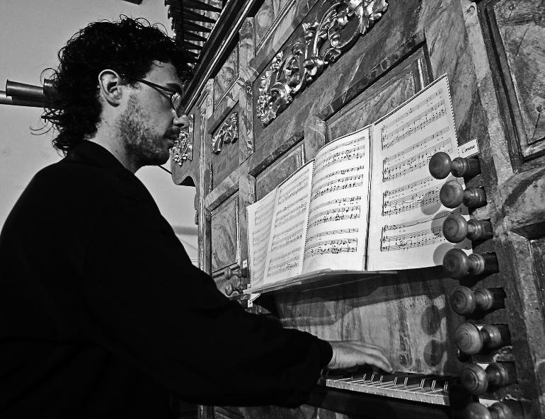 Alfonso Sáez Docón - Organista
