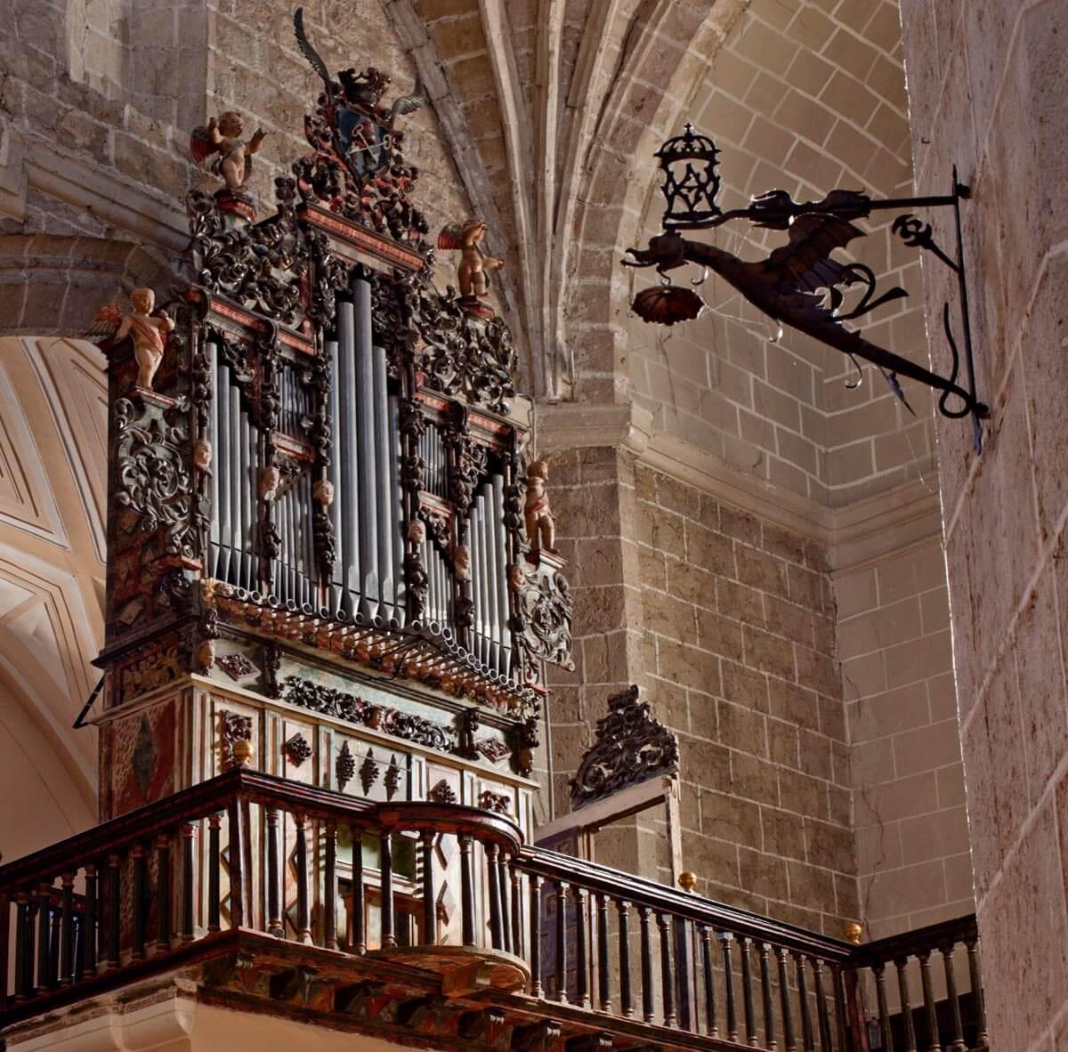 Órgano de San Pedro, Tordesillas